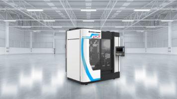 Eine FLP Microfinishing C440 Maschine