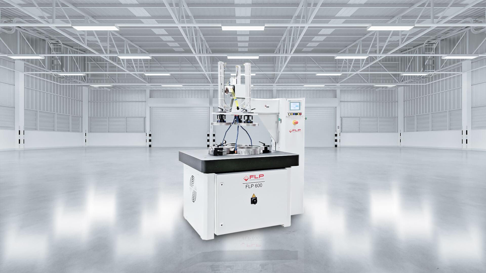 Die Maschine FLP 600 von FLP Microfinishing